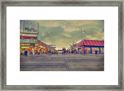 Wildwood Days  Framed Print by Kenny  Noddin