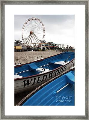 Wildwood Framed Print by John Rizzuto