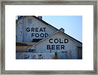 Wildwood Framed Print