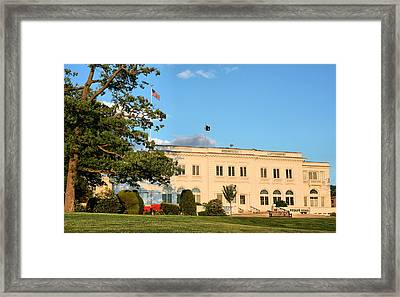 Wiley Hall Framed Print