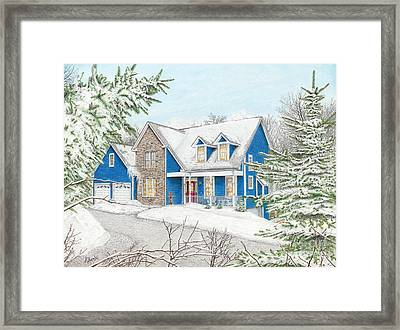 Wiley House Framed Print by Albert Puskaric