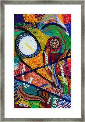 Wilfried Framed Print by Patrick OLeary