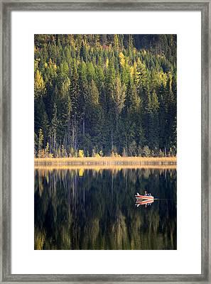 Wilgress Lake British Columbia Framed Print by Mary Lee Dereske