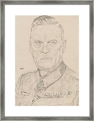 Wilhelm Keitel Framed Print