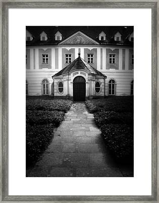 Wilhering Abby - Austria Framed Print
