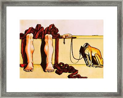 Will Be Madness Expect Something More From Life Framed Print by Paulo Zerbato