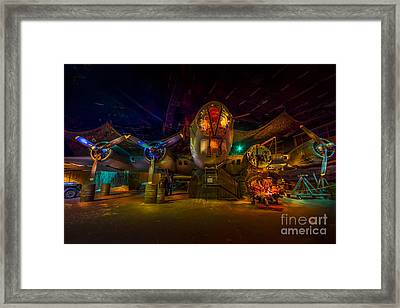 Will Be Ready At 0600 Framed Print