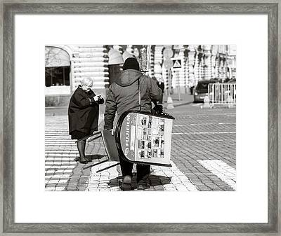 Will Cell Phones Cameras Hurt Photography? - Featured 3 Framed Print by Alexander Senin