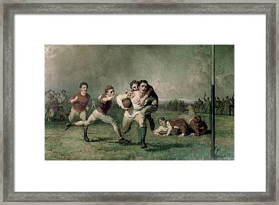 Will He Do It? Framed Print by George Elgar Hicks