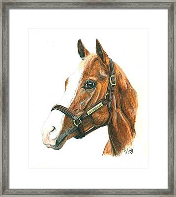 Will Take Charge Framed Print