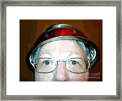 Will The Red Hat Society Accept Me? Framed Print