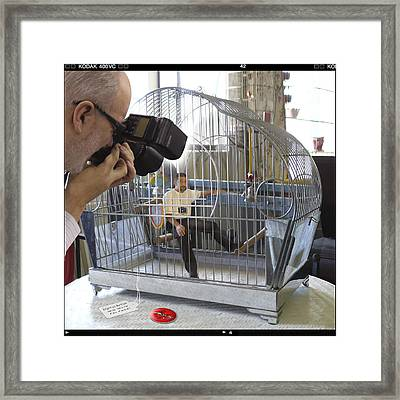 Will Work For Food Framed Print by Mike McGlothlen