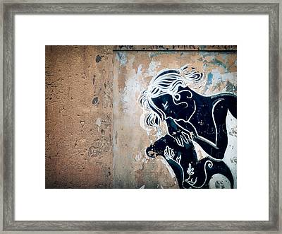 Will You Still Love Me When I'm No Longer Beautiful.. Framed Print