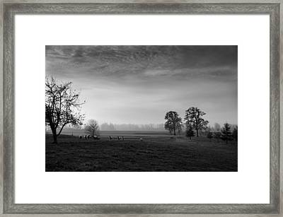 Willamette Valley Evening Framed Print