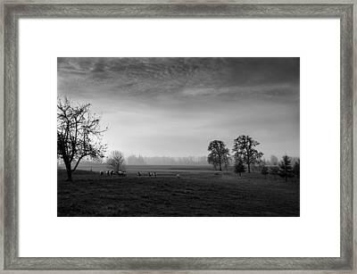 Willamette Valley Evening Framed Print