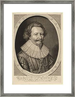 Willem Jacobsz Delff After Michiel Van Miereveld Dutch Framed Print by Quint Lox
