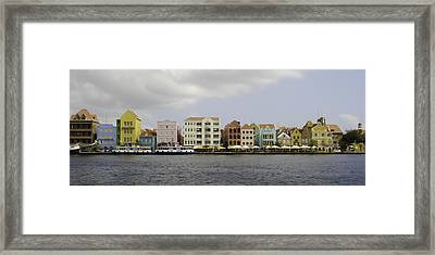 Willemstad Framed Print by Erin Cadigan