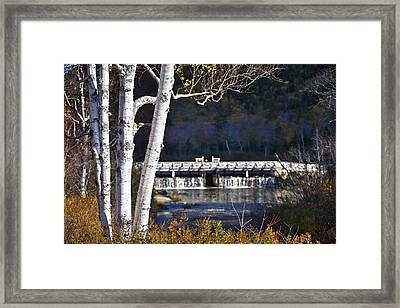 Willey Pond Framed Print by Eric Gendron