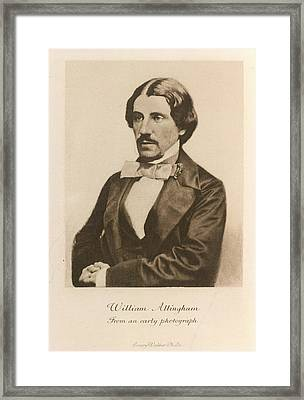 William Allingham Framed Print by British Library