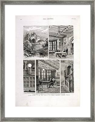 William Armstrong's Home Framed Print by British Library
