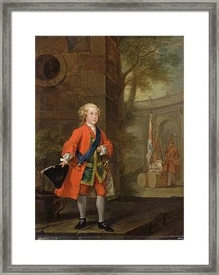 William Augustus, Duke Of Cumberland Dated Framed Print by Litz Collection