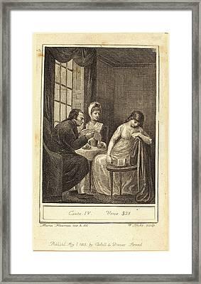 William Blake After Mary Ann Flaxman, British 1757-1827 Framed Print