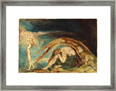 William Blake, British 1757-1827, Dream Of Thiralatha Framed Print