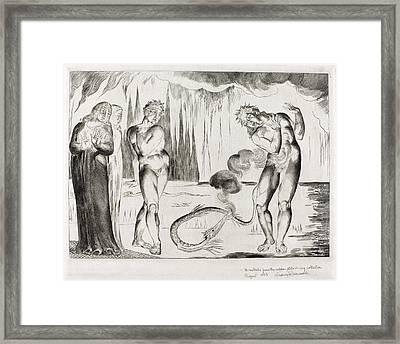 William Blake British, 1757 - 1827, The Circle Framed Print