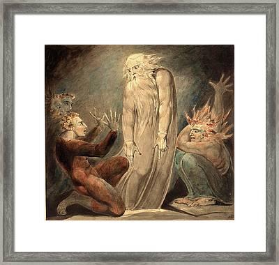 William Blake, British 1757-1827, The Ghost Of Samuel Framed Print