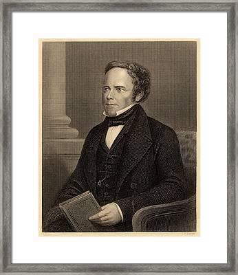 William Brande Framed Print by Universal History Archive/uig