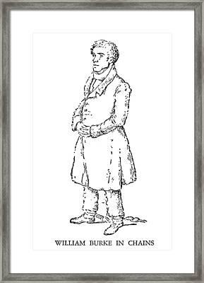 William Burke (1792-1829) Framed Print