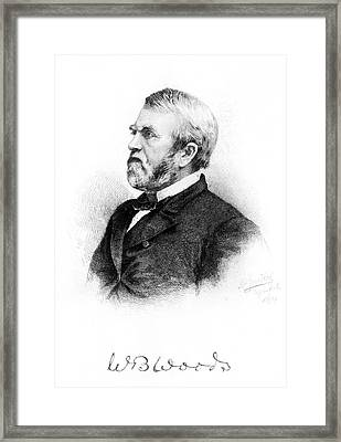 William Burnham Woods (1824-1887) Framed Print by Granger