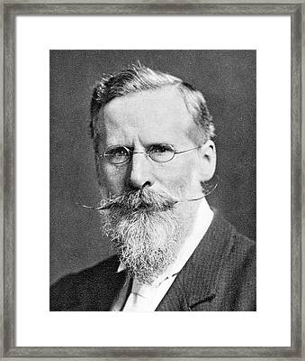 William Crookes Framed Print by Science Photo Library