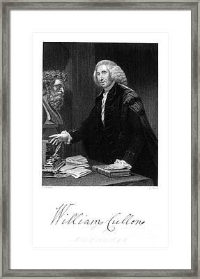 William Cullen (1710-1790) Framed Print by Granger