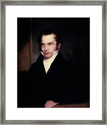 William Cullen Bryant (1794-1878) Framed Print by Granger
