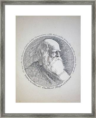William Cullen Bryant Framed Print by Henry Goode