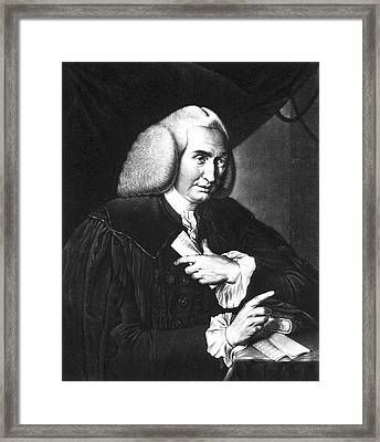 William Cullen Framed Print by National Library Of Medicine