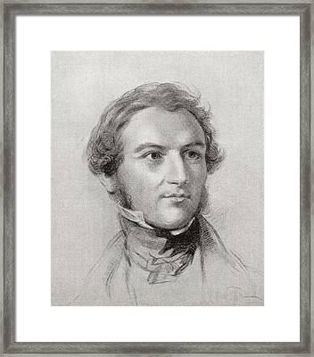 William Gladstone Framed Print by English School