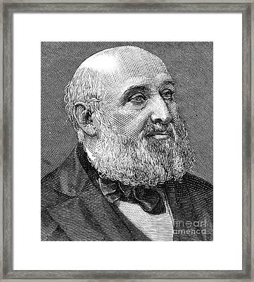 William Farr (1807-1883) Framed Print by Granger