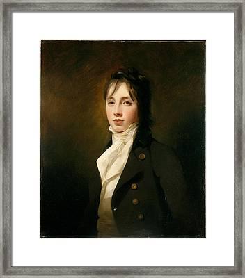 William Fraser Of Reelig 1784-1835 Framed Print by Sir Henry Raeburn