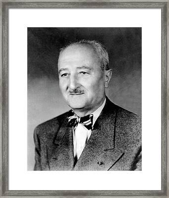 William Friedman Framed Print by National Security Agency