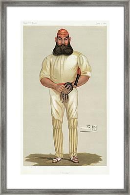 William Gilbert Grace (1848-1915) Framed Print