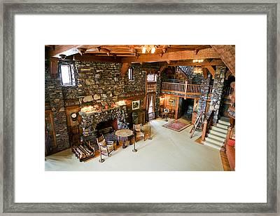 William Gillette Castle 2 Framed Print by Eric Swan