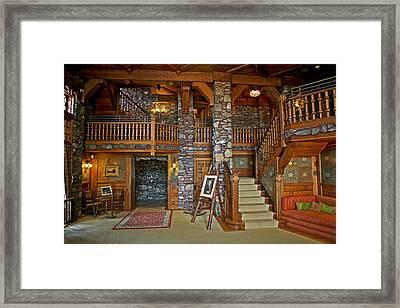William Gillette Castle Framed Print by Eric Swan