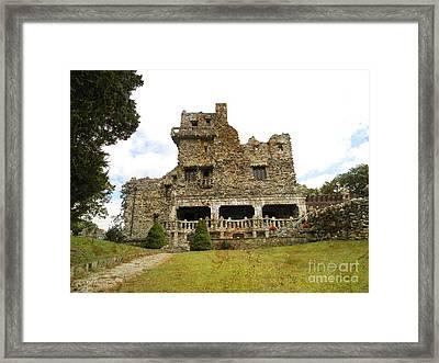 William Gillette Castle Framed Print by Spirit Baker