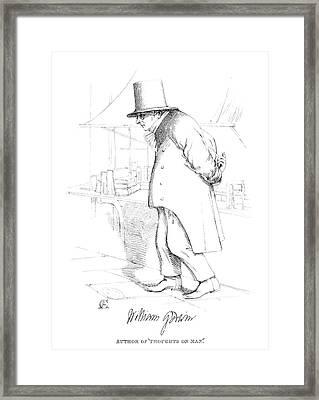 William Godwin (1756-1836) Framed Print by Granger