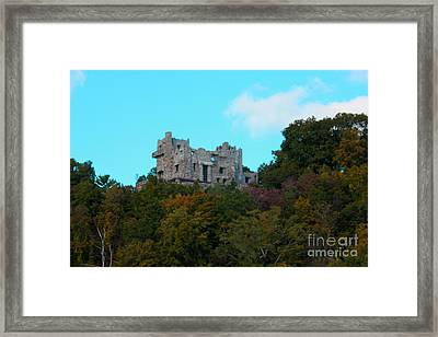William Guillette Castle Framed Print