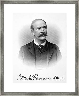 William H. Pancoast Framed Print by Granger