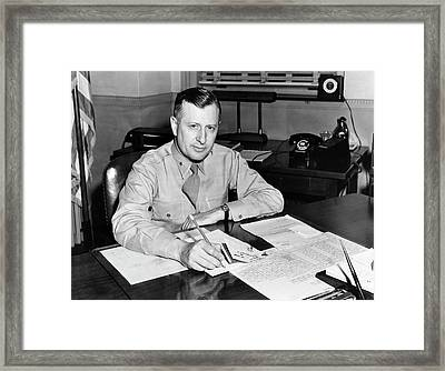 William H. Tunner Framed Print by Us Air Force