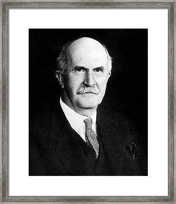 William Henry Bragg Framed Print by Aip Emilio Segre Visual Archives, W. F. Meggers Gallery Of Nobel Laureates